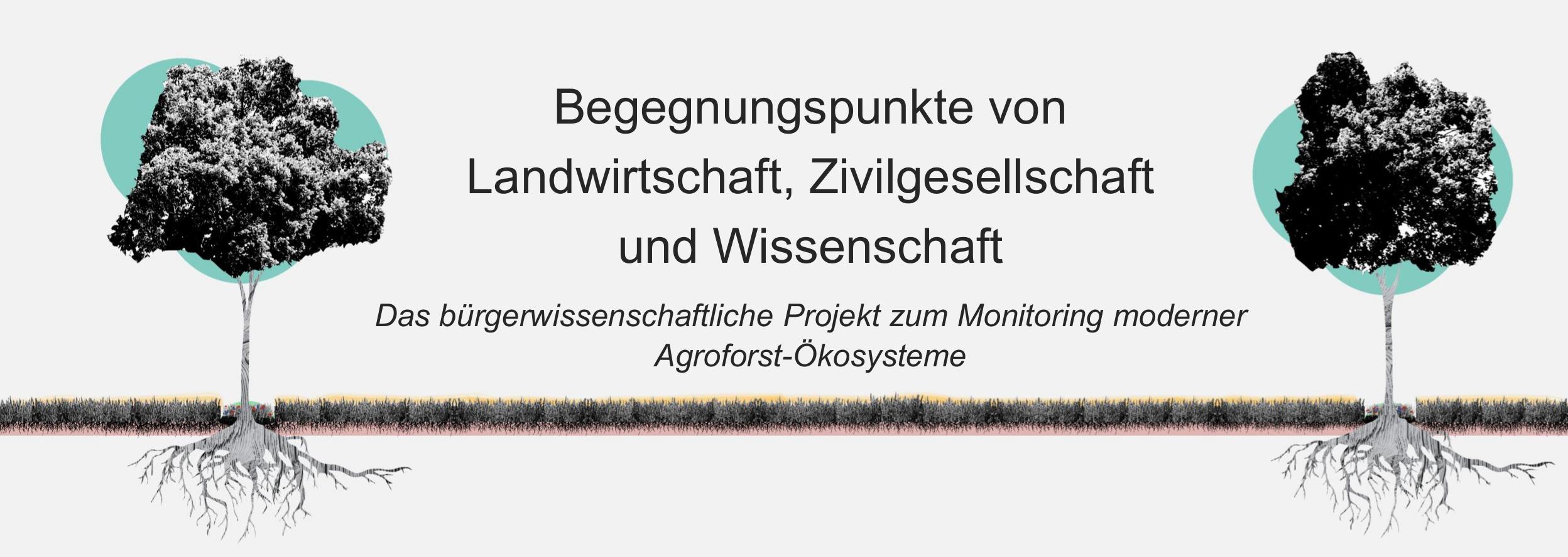 Begegnungspunkte von Landwirtschaft, Zivilgesellschaft und Wissenschaft Logo
